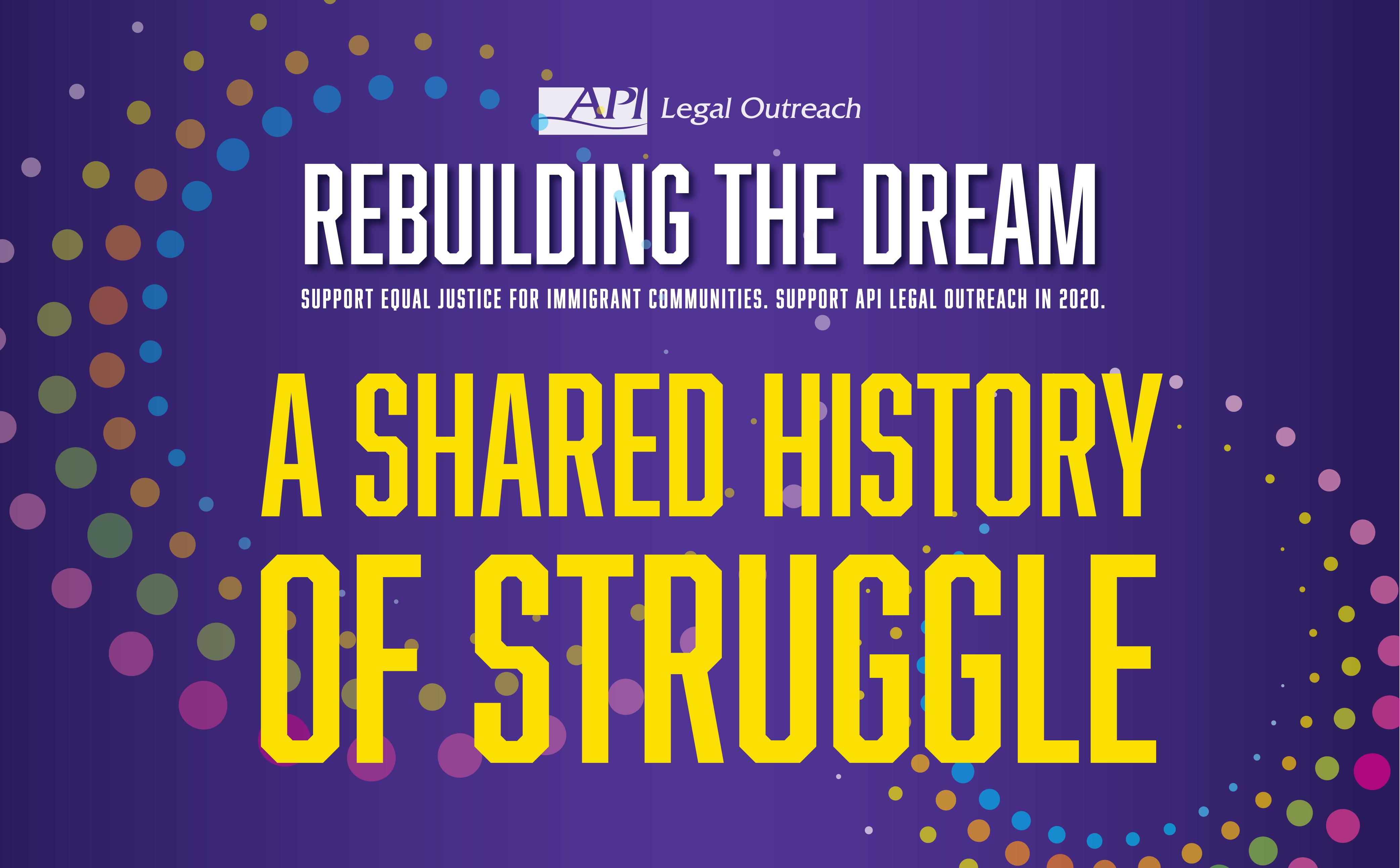 A Shared History of Struggle